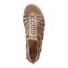 Camellia Marconi Metallic Leather Sandal - Wide~602763WWMET