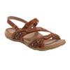 Sand Maui Leather Sandal~Alpaca 2*602776WLEA
