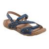 Sand Maui Leather Sandal~Sapphire Blue*602776WLEA