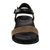 Grove Cameo Soft Leather Sandal~Dark Olive*602832WBCK