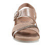 Linden Laguna Soft Leather Sandal~Blush*602859WBCK