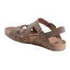 Linden Laguna Soft Leather Sandal~Grey*602859WBCK