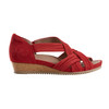 Ficus Gemini Soft Leather Sandal~Bright Red*602861WBCK