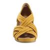 Ficus Gemini Soft Leather Sandal - Wide~Yellow*602861WWBCK