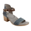 Ivy Symphony Nubuck Leather Sandal~Blue*602909WBCK