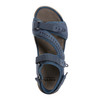Sand Nevis Nubuck Leather Sandal~Cobalt Blue*602913WBCK