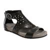 Linden Lebanon Soft Leather Sandal~Black*602914WLEA