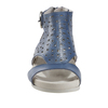 Linden Lebanon Soft Leather Sandal~Sapphire Blue*602914WLEA