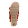 Ficus Leo Suede Sandal~Bright Coral*602923WSDE