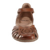 Camellia Cahoon Leather Sandal~Almond*602947WLEA
