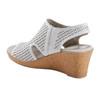 Woodland Radiant Leather Sandal~602952WLEA