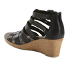 Woodland Sunny Leather Sandal~Black*602953WLEA