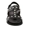 Grove Fuji Soft Leather Sandal~Black*602958WLEA