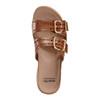 Sand Havana Leather Slide Sandal~Alpaca 2*602974WCLF