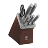 HENCKELS Modernist 7-Piece Self-Sharpening Knife Block Set~17503-007