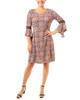 Medallion Crochet Bell Sleeve Dress~Gold Lockkey*MITD3627