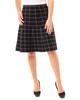 Windowpane Jacquard Knit Skirt~Lucille*MSVK0127