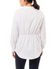 Knot-Front Collar Blouse~White*MPLU0193