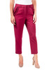 Ruffle Pocket Ankle Trouser~Wine Rubirosa*MPZL0151