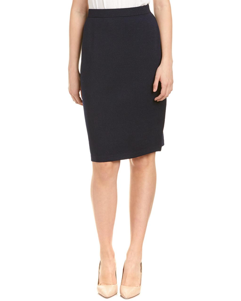 1fd942d677 St. John Wool-Blend Pencil Skirt~1411148332 - Carsons