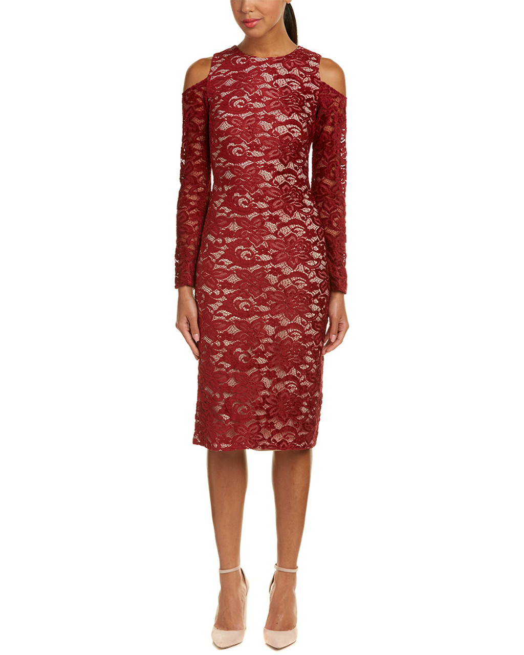 4076bd786102 alice + olivia Laila Midi Dress~1411245595 - Bon-Ton