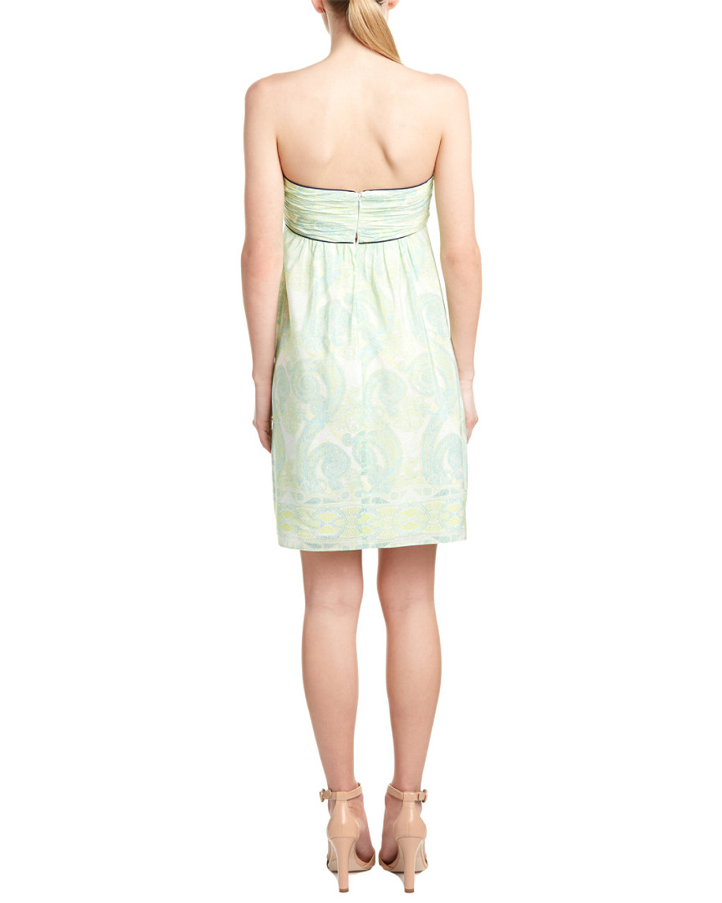 Sail To Sable Silk Sundress 1411806064 Bon Ton