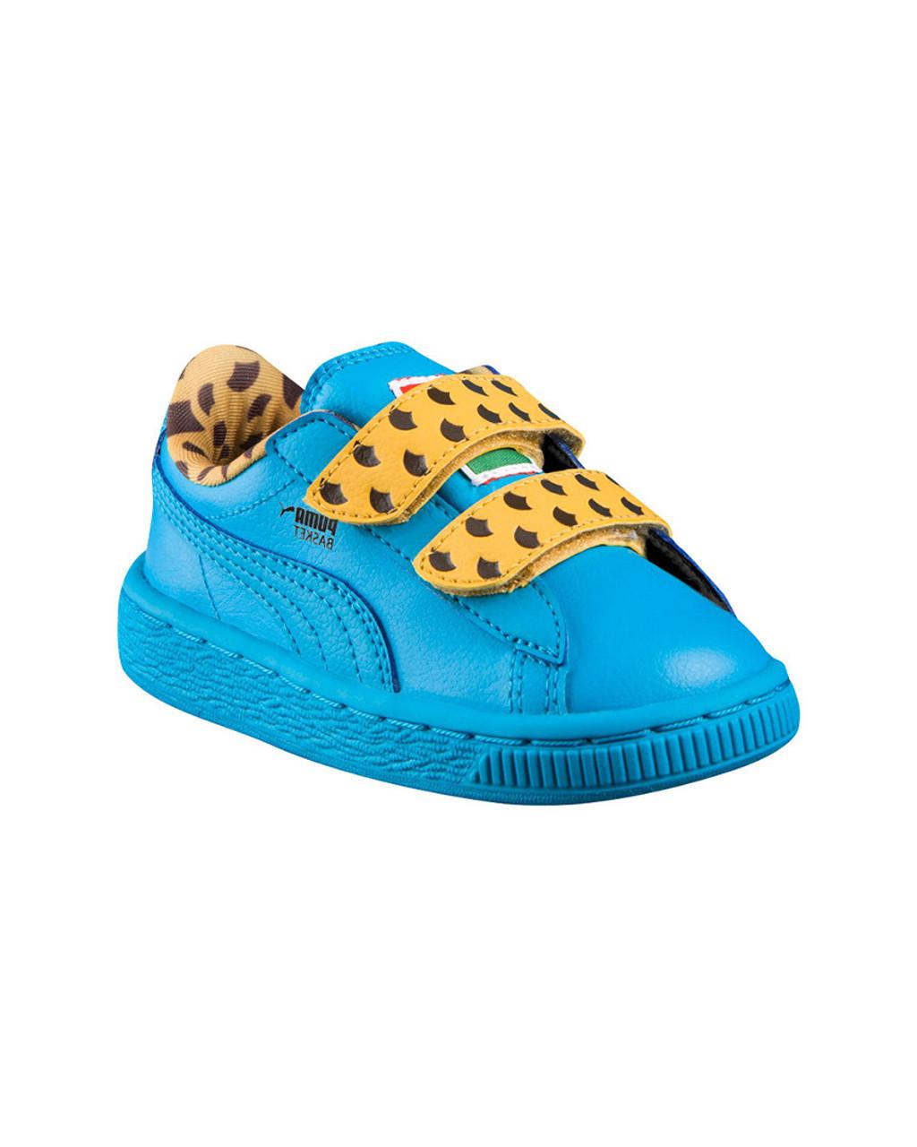 87483bfa Puma Sneaker Sesame Street Basket Cookie Monster Mono V PS Low-Top  Sneaker~1511801960