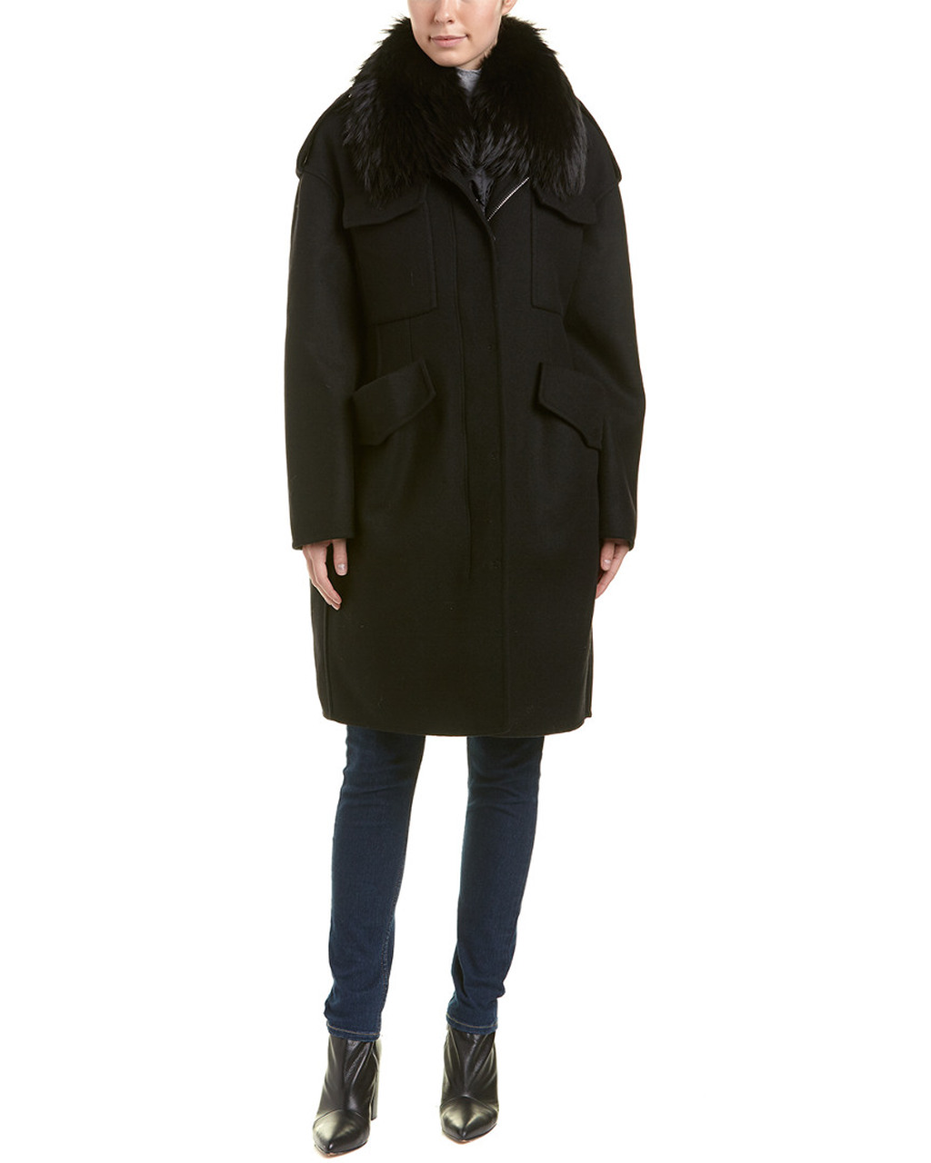 436b8a26c Moncler Philliera Wool   Cashmere-Blend Coat~1411583388 - Carsons