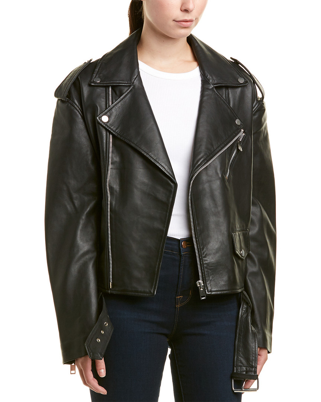 select for clearance men/man amazon Walter Baker Hope Leather Jacket~1411391212