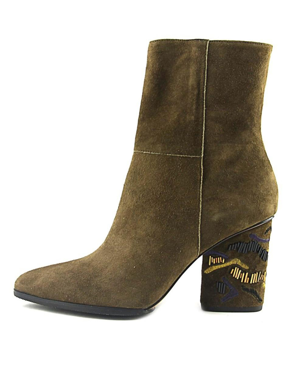 588aebd9c35 Donald J Pliner Womens Vantisp Leather Pointed Toe Mid-Calf Fashion  Boots~pp-00294f34