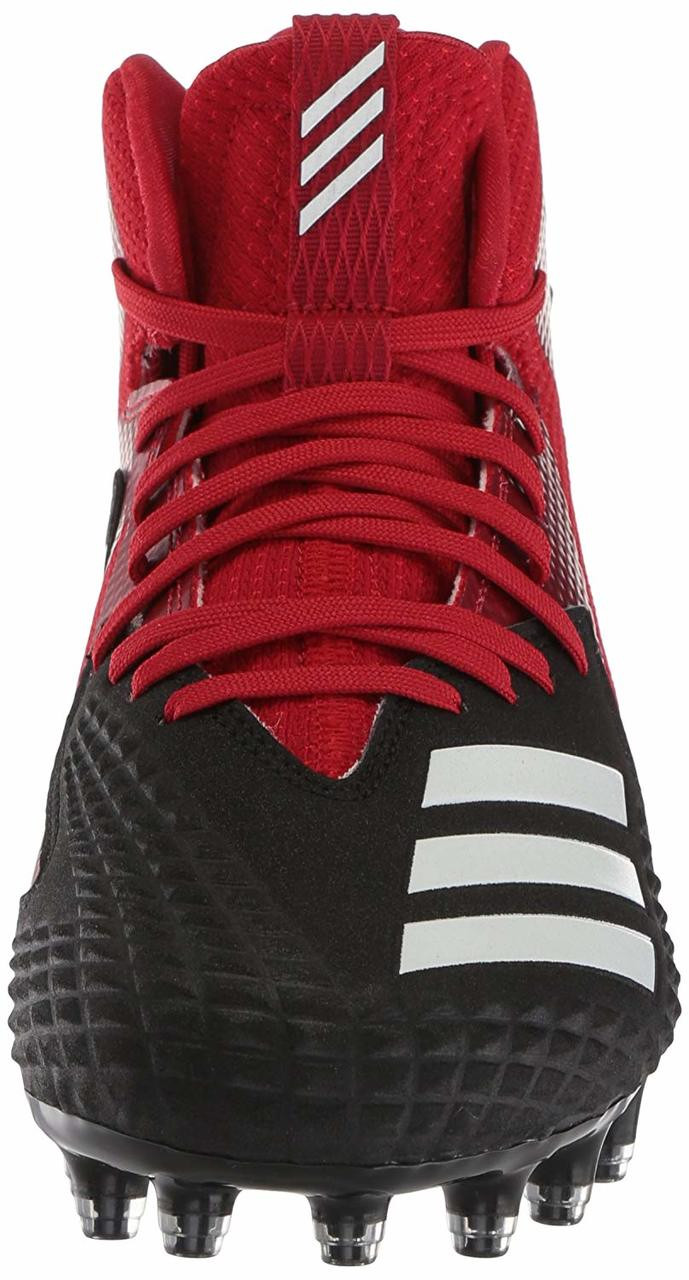 3b15432e9 Mens Red Freak X Carbon Low  detailed look 0953a 6a836 ... adidas Mens  Freak X Carbon Mid Football Shoe~
