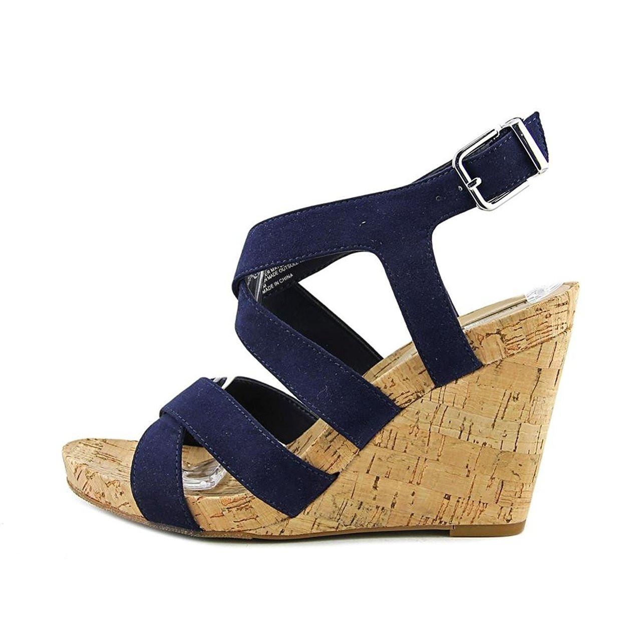 097e0251c33e ... INC International Concepts Womens Landor Fabric Open Toe Casual  Platform Sandals~pp-104def98