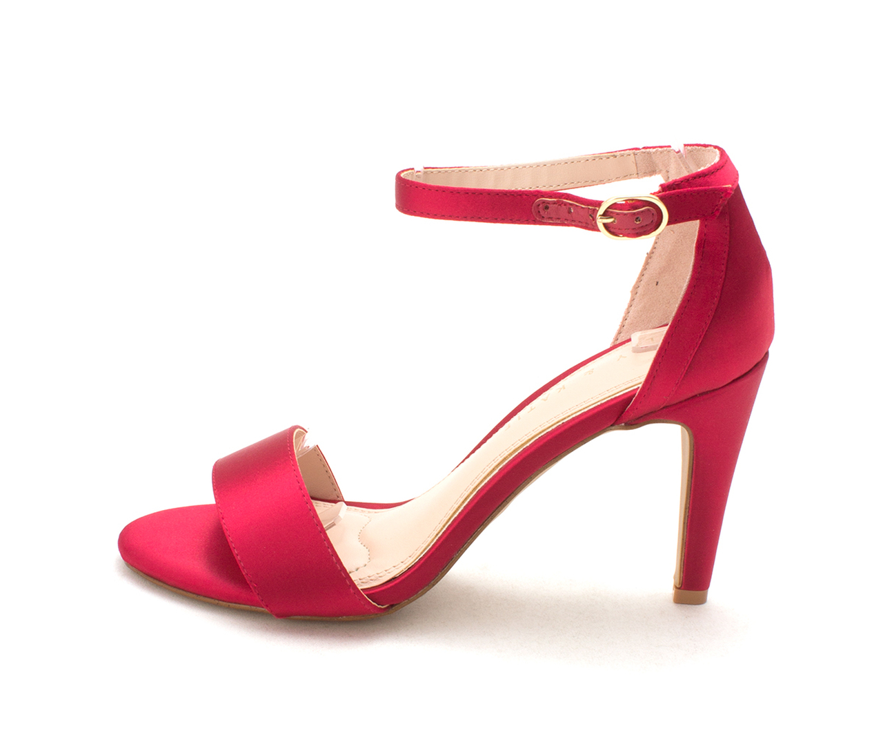 5d17f7bf186 Kelly   Katie Womens kaini Open Toe Ankle Strap Classic Pumps~pp ...
