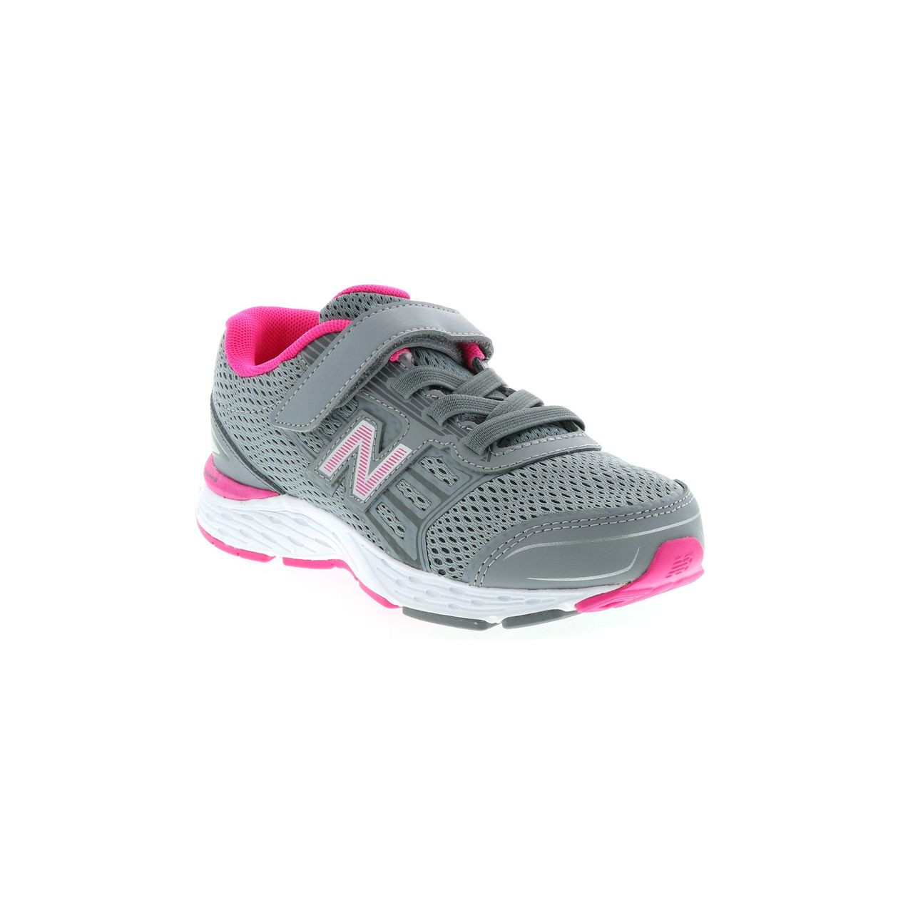 44e1b50d Kids New Balance Girls KA680SSY Leather Low Top Lace Up Running  Sneaker~pp-18cfa9b0