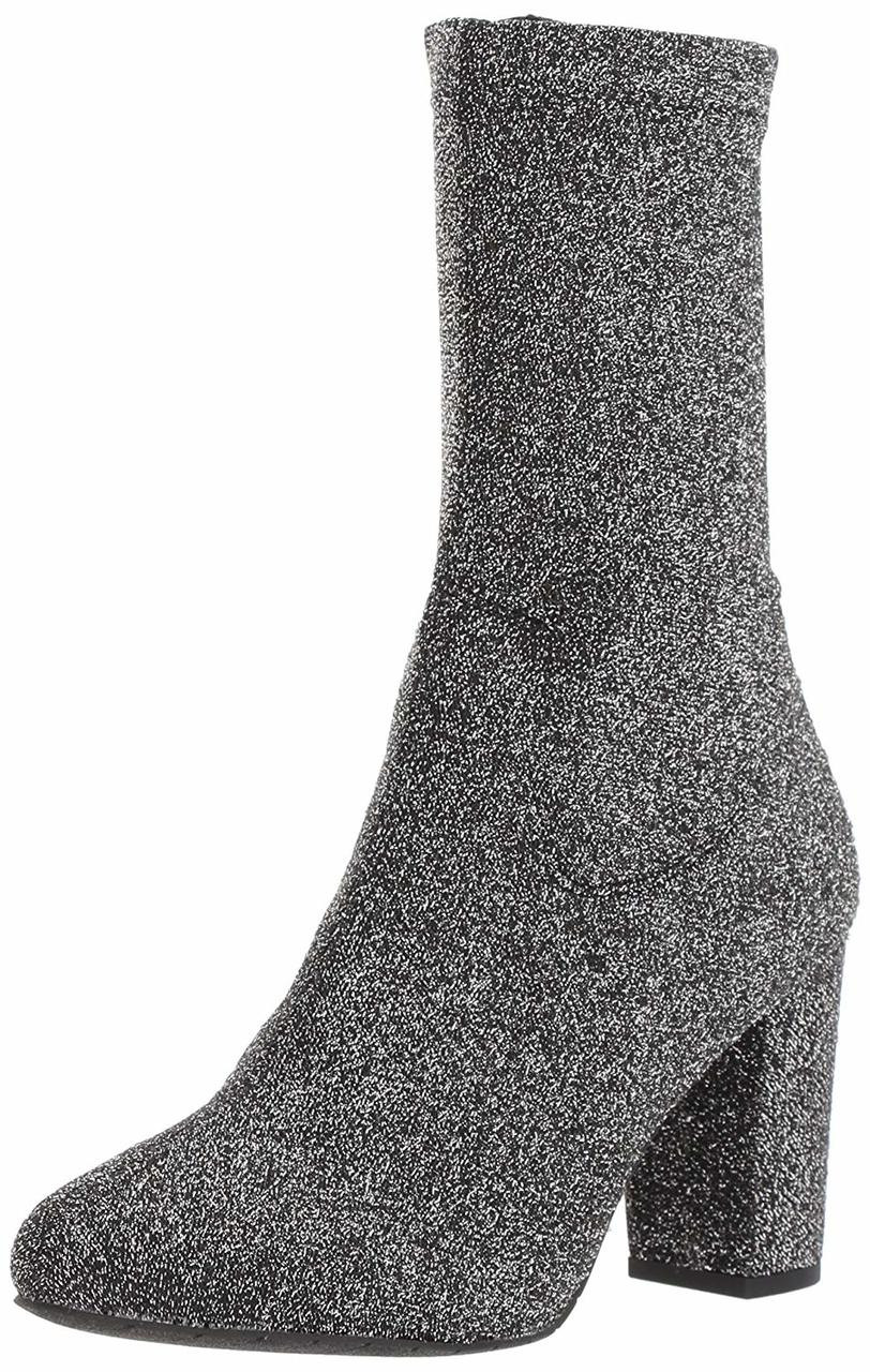 Kenneth Cole New York Womens Alyssa Stretch Shaft Boot with Heel Ankle