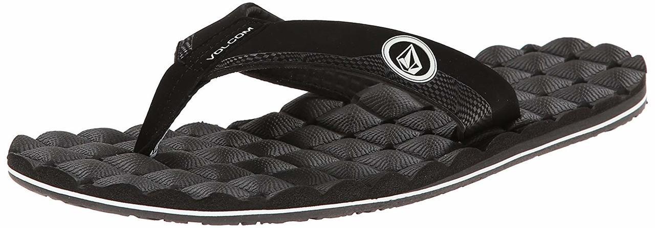 fa3b6c71fd88 ... Volcom Men s Recliner Sandal Flip Flop