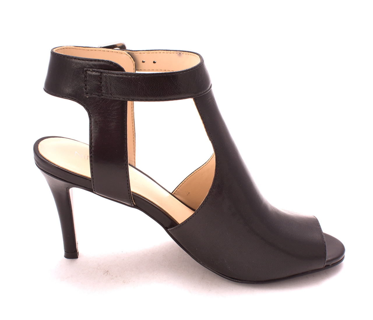 58b5f9c52d Bandolino Womens infusion Leather Peep Toe Casual Slingback  Sandals~pp-555bcfcd ...