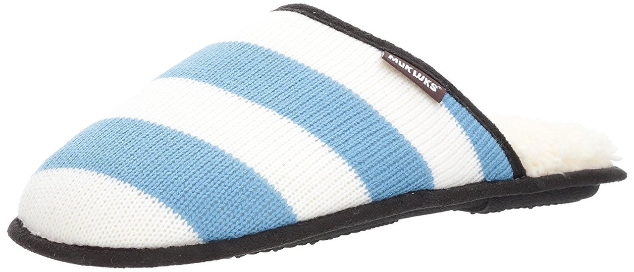 90f319a5c7658 ... MUK LUKS Mens Game Day Scuffs Fabric Closed Toe Slip On  Slippers~pp-56f85174