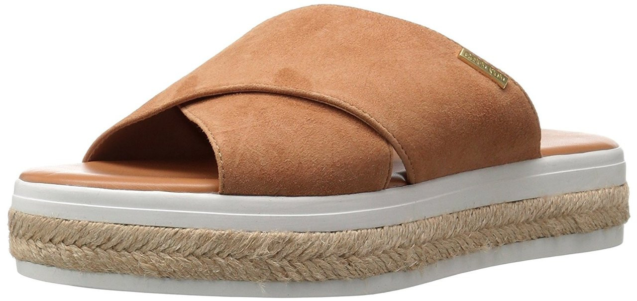 ad42f4fc5737 ... Calvin Klein Womens Jupare Suede Open Toe Casual Espadrille Sandals ~pp-644b6b2f