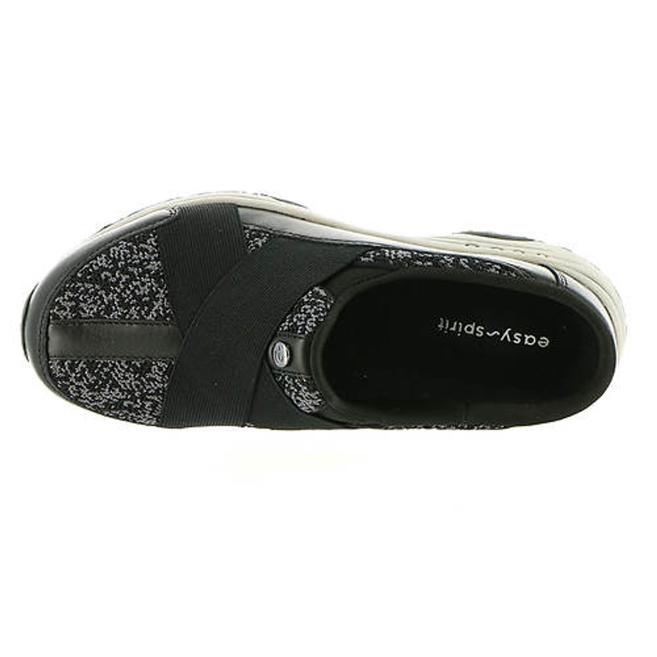 ea48d9f5dfa Easy Spirit Women Thirst Slip On~BLACK BLACK+PAVEMENT BLACK E-THIRST ...