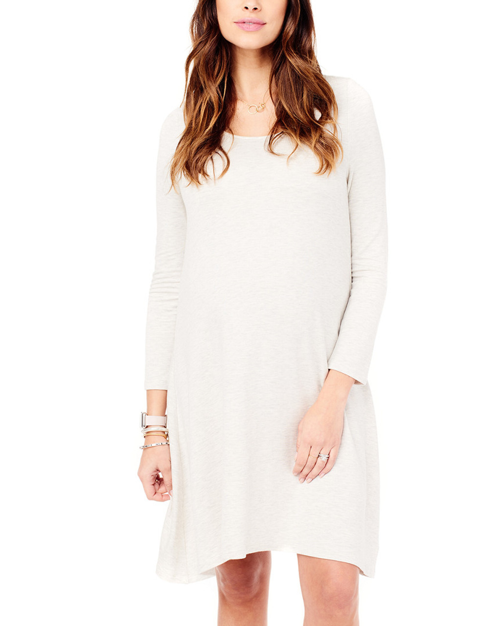 809dccc10586c Ingrid & Isabel Maternity Long Sleeve Trapeze Dress~1050009075 ...
