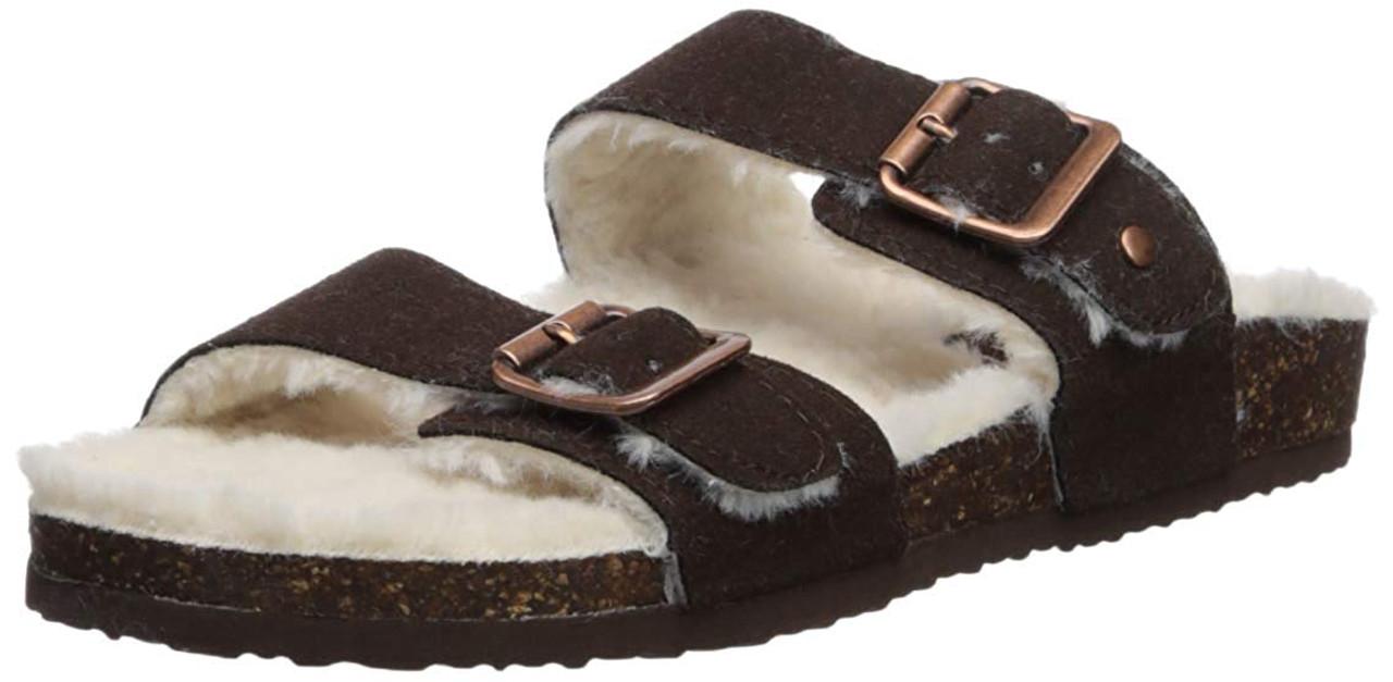 5dbeca38dc4 Madden Girl Women's Brando-f Slide Sandal~pp-190ccc16