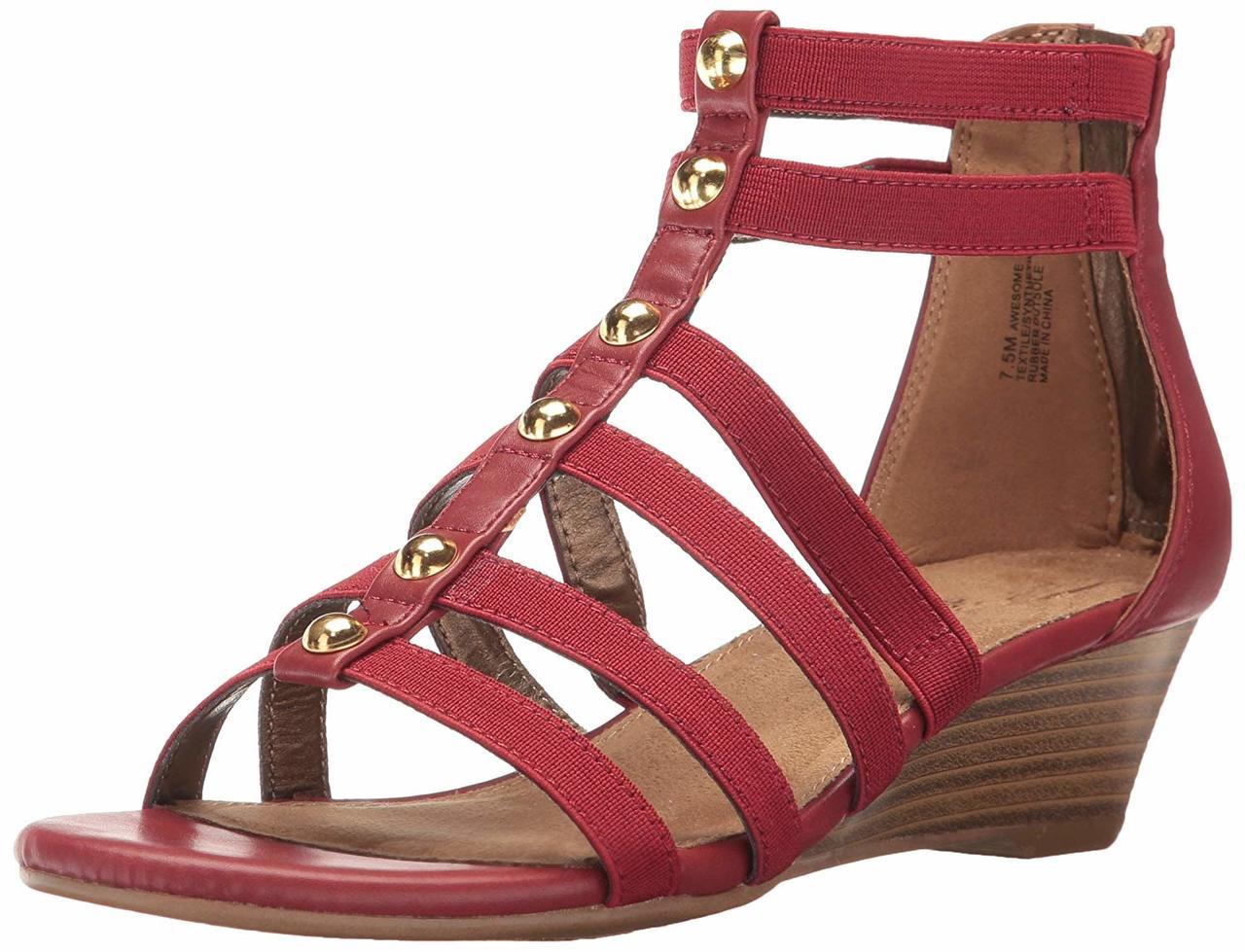 53ea3ae18d Aerosoles Women's Awesome Wedge Sandal~pp-573b3a6d - Boston Store