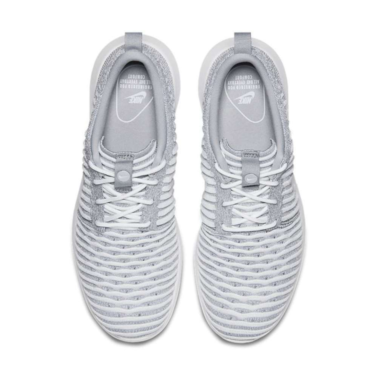 buy online e8ccf 65cb4 ... Nike Womens Roshe Two Flyknit Low Top Lace Up Running Sneaker~pp-650e418a  ...