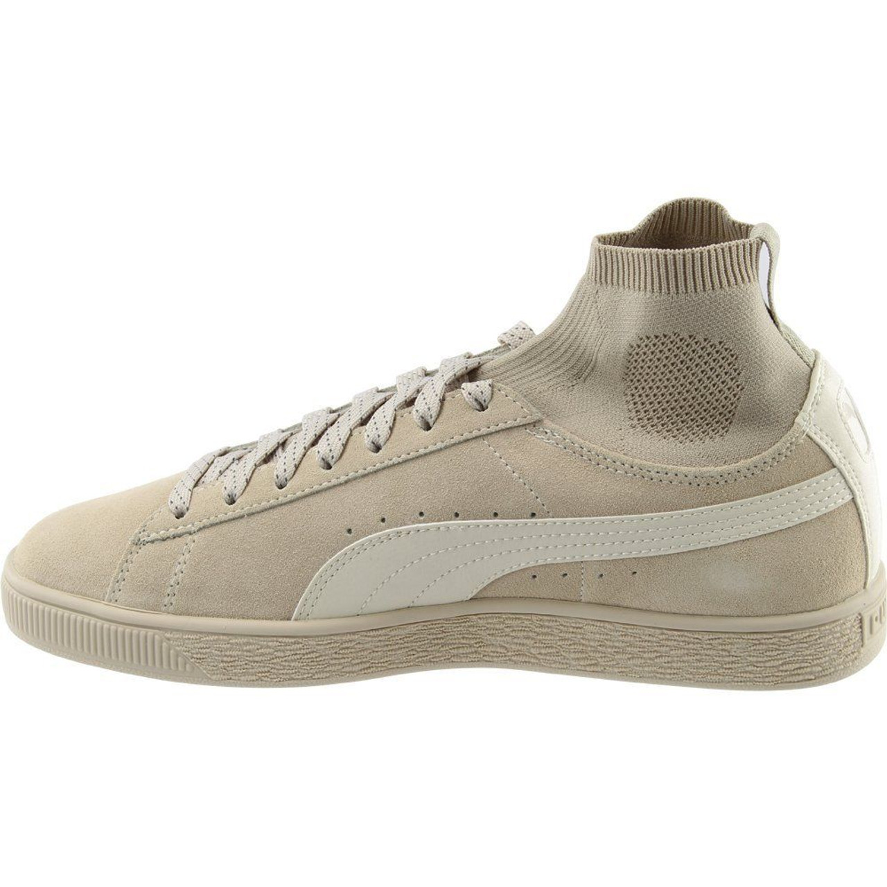 sports shoes 9cdef 76ccf PUMA Mens Suede Classic Sock Athletic & Sneakers Beige~pp-667c1e50