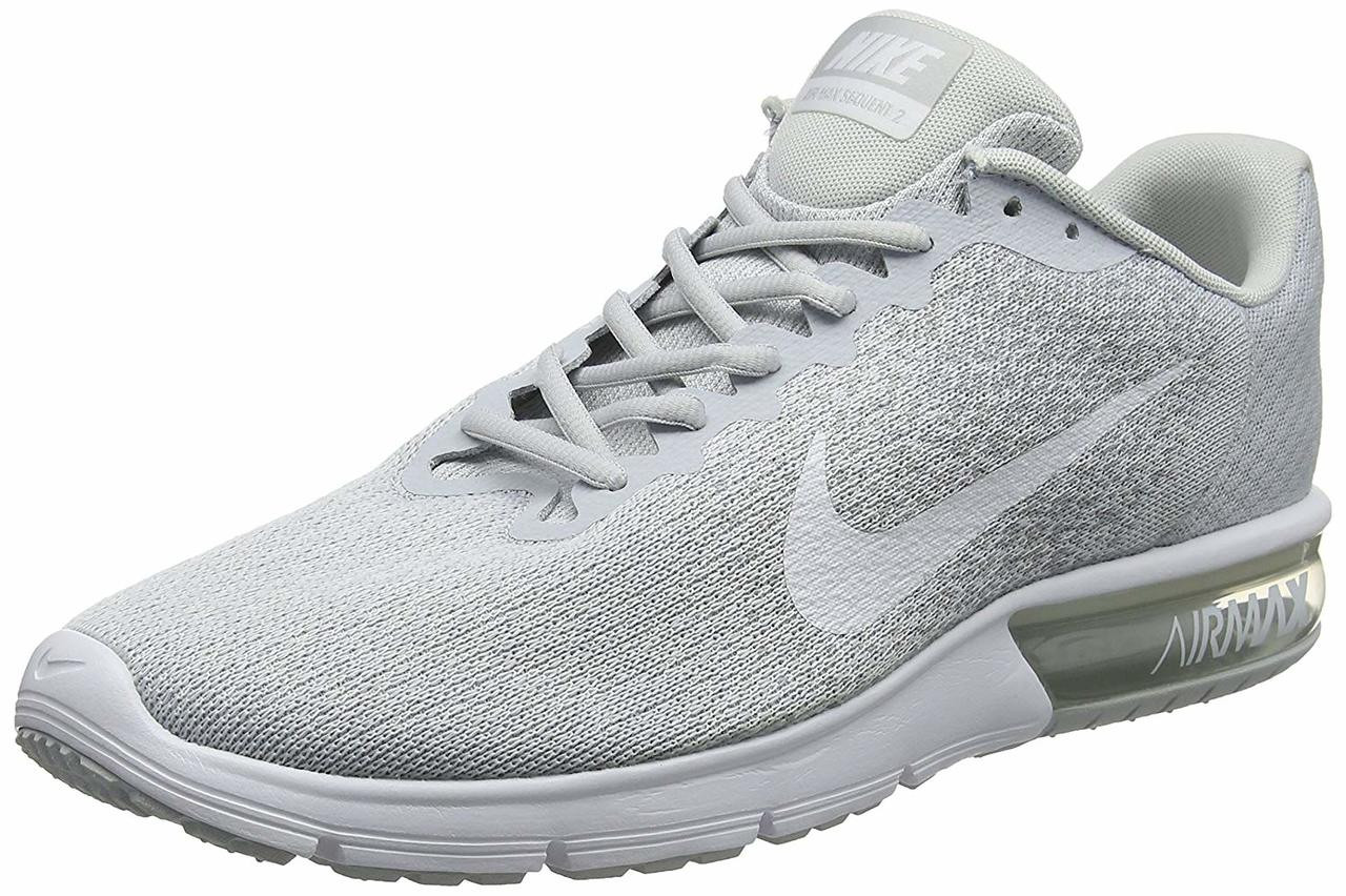 c87e2fbe24 ... Nike Mens Nike Air Max Sequent Low Top Lace Up Trail Running Shoes~pp-