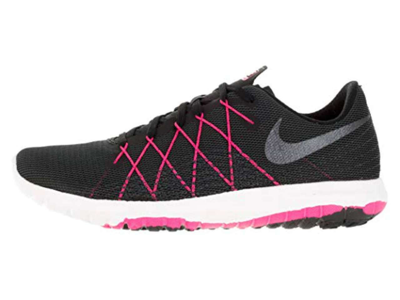 separation shoes 18ce5 dac5a Nike Womens Flex Fury 2 Low Top Lace Up Running Sneaker~pp-cab1123b