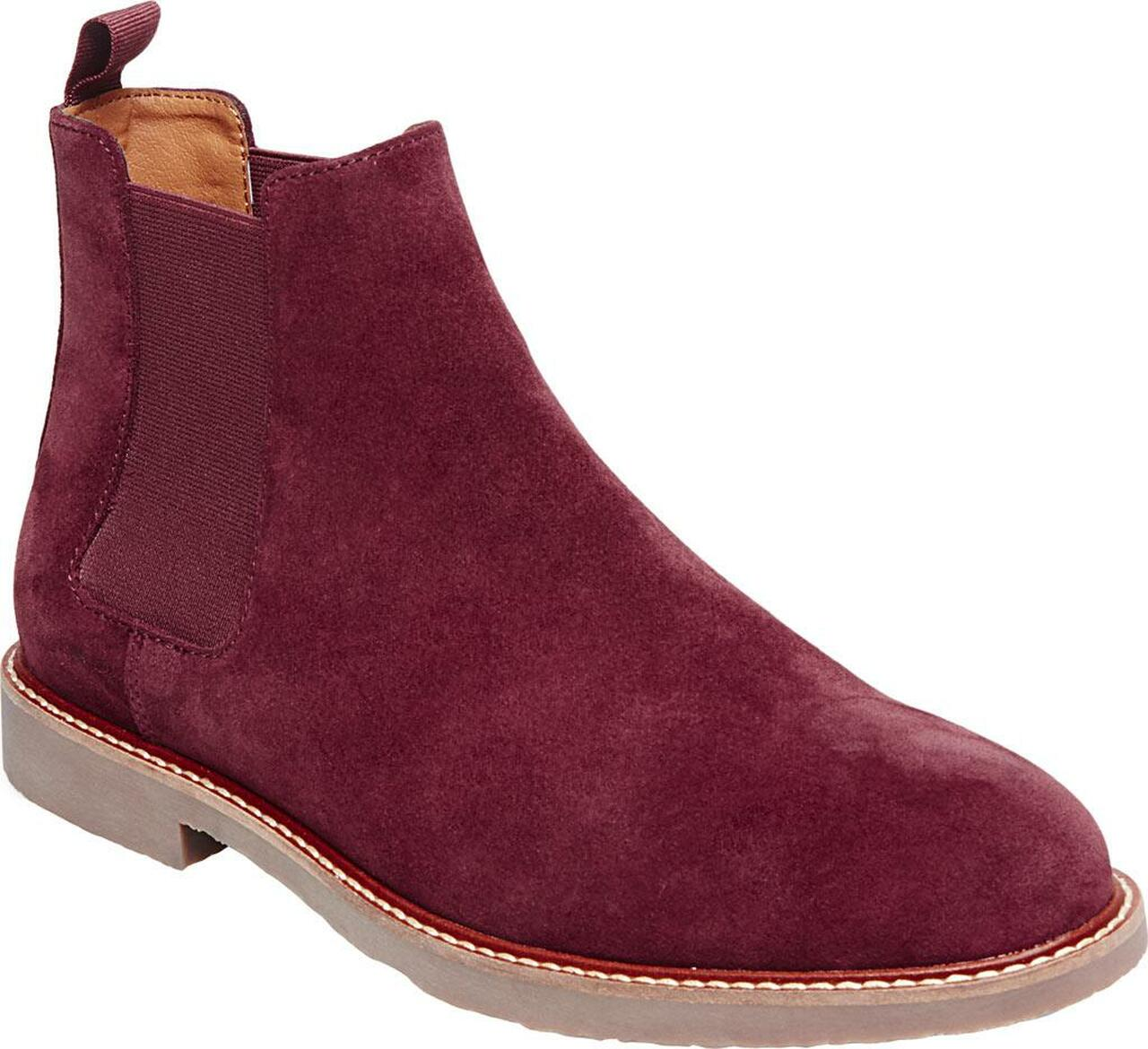 4e079095ad8 Steve Madden Mens Highline Leather Round Toe Ankle Chelsea Boots~pp-d08a1a8a