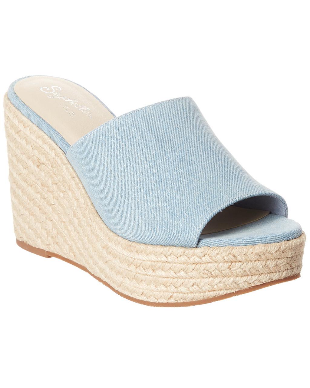 bf6d8130c8 Seychelles Ride The Wave Denim Wedge Sandal~1311946846 - Boston Store