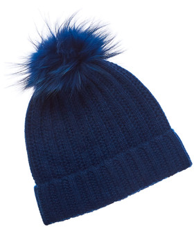 1bc02f20d4809 Phenix Cashmere Hat with Pom